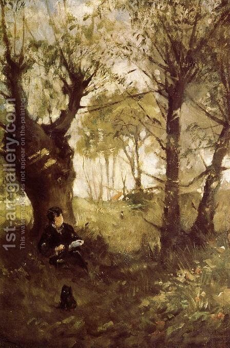 Old Path at Auvers 1863 by Berthe Morisot - Reproduction Oil Painting