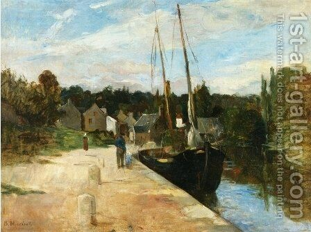 Rosbras (Finistere) by Berthe Morisot - Reproduction Oil Painting