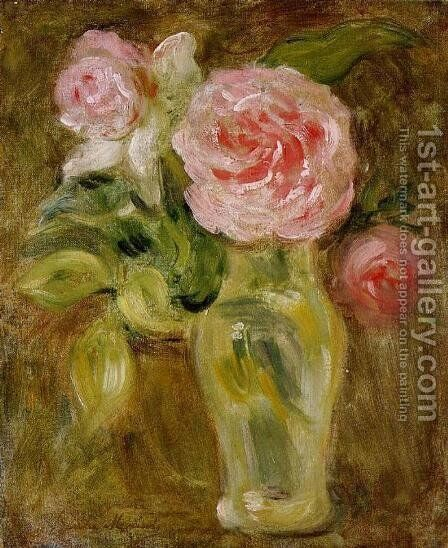 Roses by Berthe Morisot - Reproduction Oil Painting
