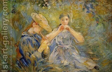 The Flageolet by Berthe Morisot - Reproduction Oil Painting