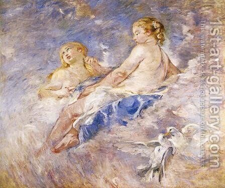 Venus At The Forge Of Vulcan (after Boucher) by Berthe Morisot - Reproduction Oil Painting