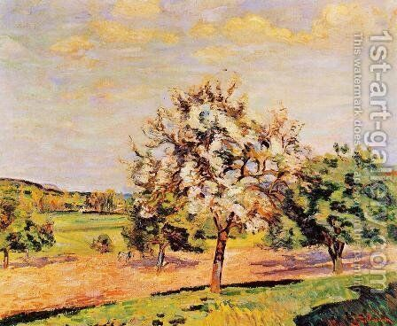 Apple Trees In Bloom by Armand Guillaumin - Reproduction Oil Painting