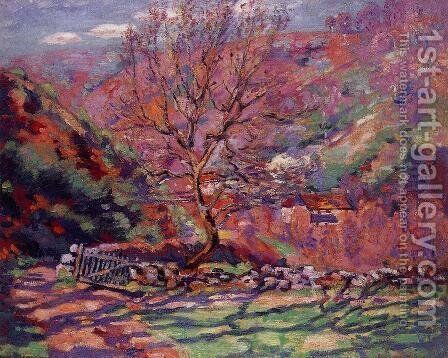 Crozand  Solitude by Armand Guillaumin - Reproduction Oil Painting