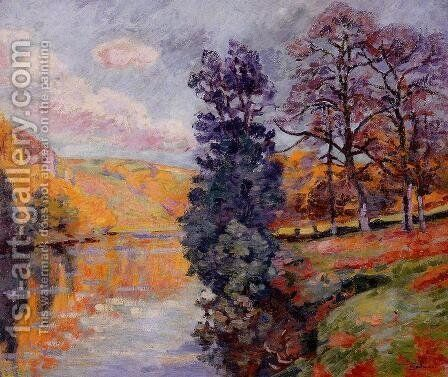Crozant   Echo Rock by Armand Guillaumin - Reproduction Oil Painting