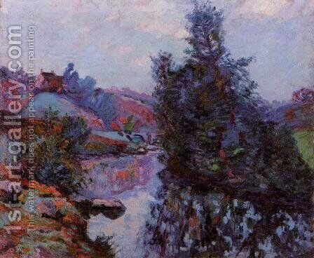 Crozant  The Bouchardon Mill by Armand Guillaumin - Reproduction Oil Painting