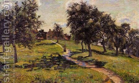 Damiette   Apple Trees by Armand Guillaumin - Reproduction Oil Painting