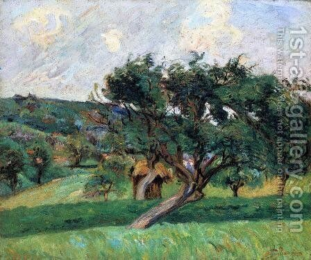 Damiette Landscape by Armand Guillaumin - Reproduction Oil Painting