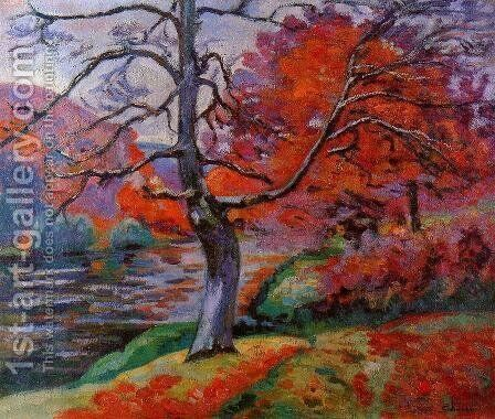 Echo Rock2 by Armand Guillaumin - Reproduction Oil Painting