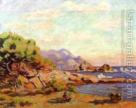 La Pointe Du Lou Gaou by Armand Guillaumin - Reproduction Oil Painting