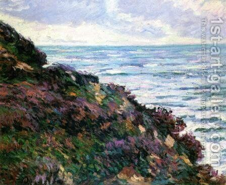 Seascape by Armand Guillaumin - Reproduction Oil Painting