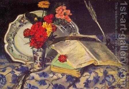 Still Life by Armand Guillaumin - Reproduction Oil Painting