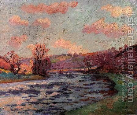 The Banks Of The Creuse River by Armand Guillaumin - Reproduction Oil Painting