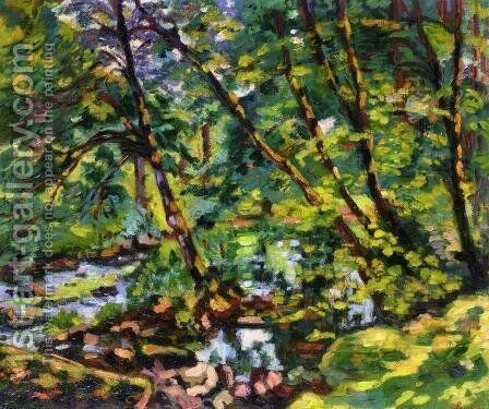 The Banks Of The Sioule by Armand Guillaumin - Reproduction Oil Painting