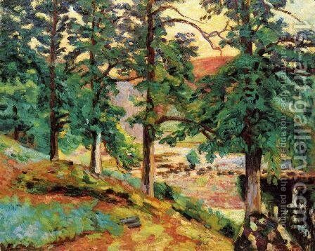 The Creuse by Armand Guillaumin - Reproduction Oil Painting