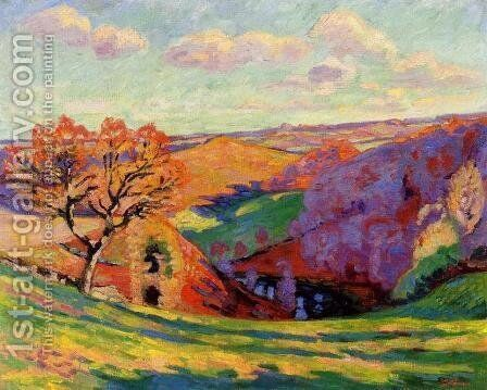 The Creuse At Crozant by Armand Guillaumin - Reproduction Oil Painting