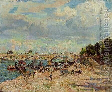 The Seine At Charenton3 by Armand Guillaumin - Reproduction Oil Painting