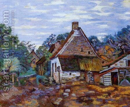 Village by Armand Guillaumin - Reproduction Oil Painting