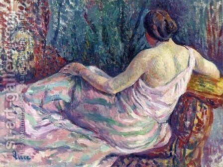 Woman From Behind by Armand Guillaumin - Reproduction Oil Painting