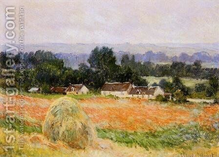 A Haystack by Claude Oscar Monet - Reproduction Oil Painting