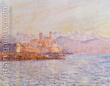 Antibes by Claude Oscar Monet - Reproduction Oil Painting