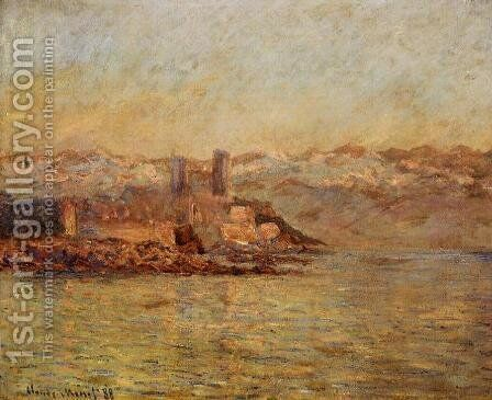 Antibes And The Maritime Alps by Claude Oscar Monet - Reproduction Oil Painting