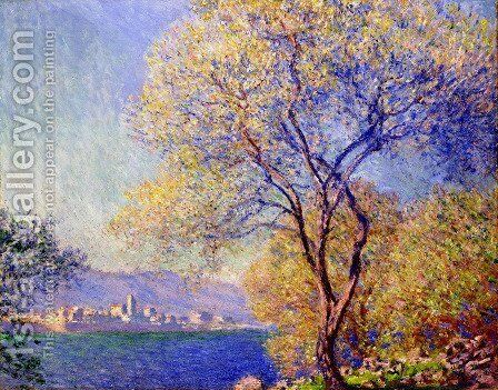 Antibes In The Morning by Claude Oscar Monet - Reproduction Oil Painting