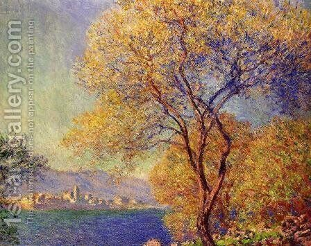 Antibes Seen From The Salis Gardens2 by Claude Oscar Monet - Reproduction Oil Painting