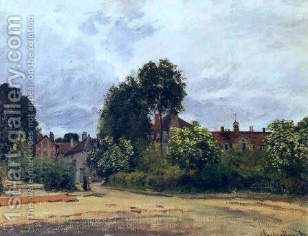 Argenteuil  The Hospice by Claude Oscar Monet - Reproduction Oil Painting