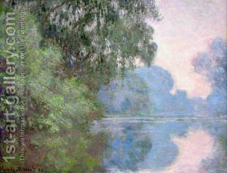 Arm Of The Seine Near Giverny2 by Claude Oscar Monet - Reproduction Oil Painting
