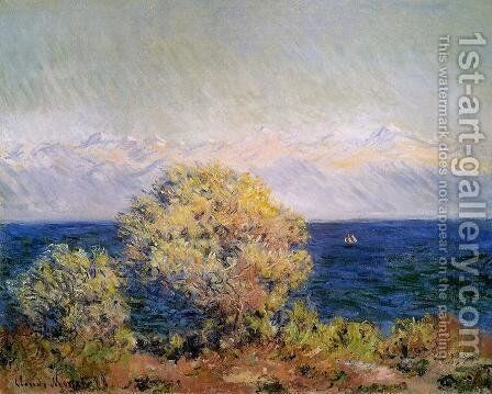At Cap D Antibes2 by Claude Oscar Monet - Reproduction Oil Painting