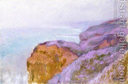 At Val Saint Nicolas Near Dieppe In The Morning by Claude Oscar Monet - Reproduction Oil Painting