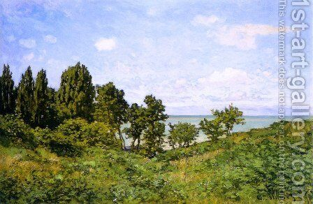 By The Sea by Claude Oscar Monet - Reproduction Oil Painting