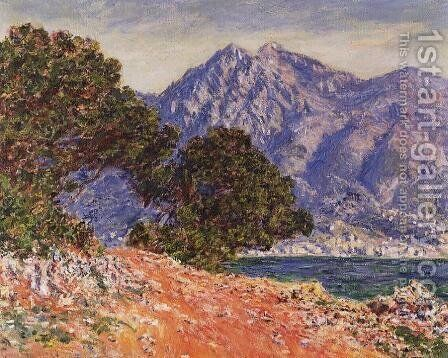 Cap Martin2 by Claude Oscar Monet - Reproduction Oil Painting