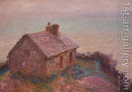 Customs House At Varengaville by Claude Oscar Monet - Reproduction Oil Painting