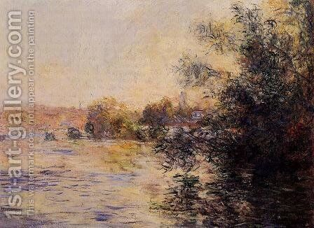 Evening Effect Of The Seine by Claude Oscar Monet - Reproduction Oil Painting