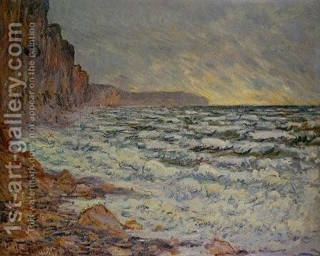 Fecamp  By The Sea by Claude Oscar Monet - Reproduction Oil Painting