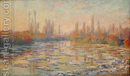 Floating Ice2 by Claude Oscar Monet - Reproduction Oil Painting