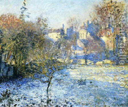 Frost by Claude Oscar Monet - Reproduction Oil Painting