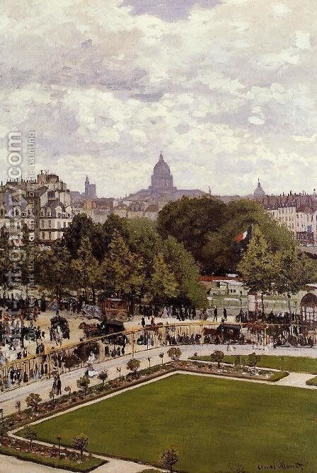 Garden Of The Princess by Claude Oscar Monet - Reproduction Oil Painting