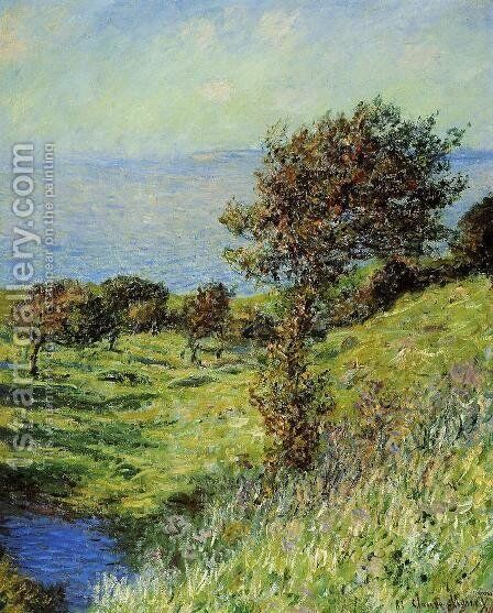Gust Of Wind by Claude Oscar Monet - Reproduction Oil Painting