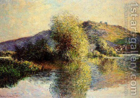 Isleets At Port Villez by Claude Oscar Monet - Reproduction Oil Painting