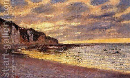 LAlly Point  Low Tide by Claude Oscar Monet - Reproduction Oil Painting