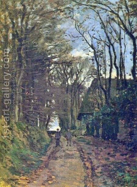 Lane In Normandy by Claude Oscar Monet - Reproduction Oil Painting