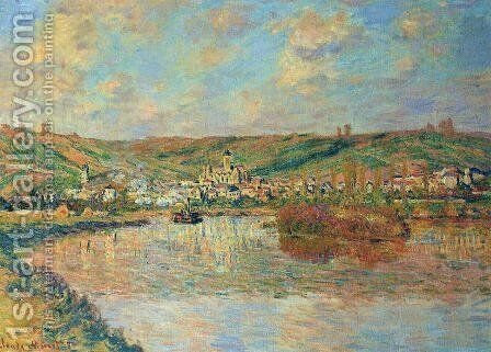 Late Afternoon In Vetheuil by Claude Oscar Monet - Reproduction Oil Painting