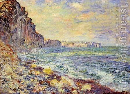 Morning By The Sea by Claude Oscar Monet - Reproduction Oil Painting