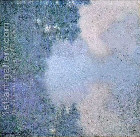 Morning On The Seine3 by Claude Oscar Monet - Reproduction Oil Painting
