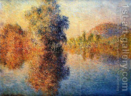 Morning On The Seine5 by Claude Oscar Monet - Reproduction Oil Painting