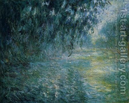 Morning On The Seine In The Rain by Claude Oscar Monet - Reproduction Oil Painting