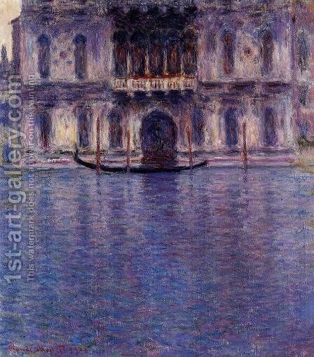 Palazzo Contarini by Claude Oscar Monet - Reproduction Oil Painting