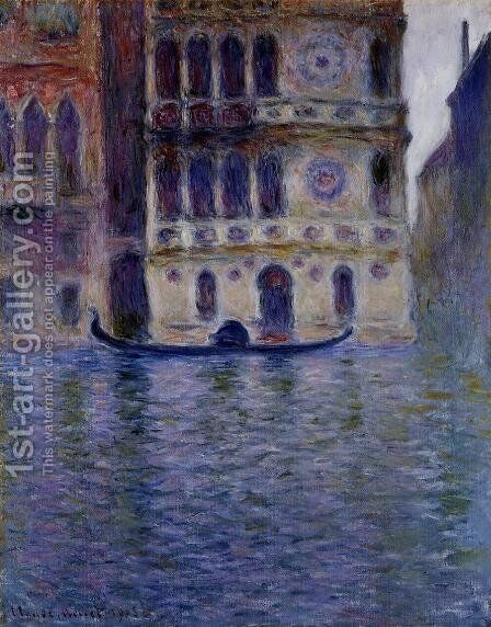 Palazzo Dario by Claude Oscar Monet - Reproduction Oil Painting